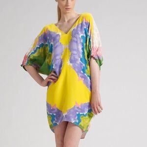 Tibi Calla Lily V-Neck Dress Size 0 WORN ONCE!